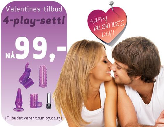 Valentine-tilbud par