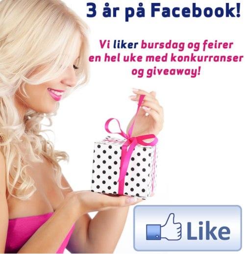 3 år på Facebook