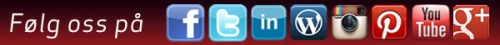sosiale medier RØD